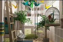 MooKoo Children's room design / Jungle like children's room