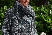 Winters Coming / Lorella Garbi Coat £150 ,FU Myra Trousers £55, Real Leather Bag £50