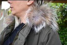 Fur Trim Parker / Fur Trim Parker £310, Culture Jeans £95, Costa Copenhagen Mixed Cotten and Silk Top (Available in White) £57
