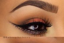 eye make up / gorgeous eye make-up that i would love to ty out