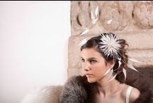 Bridal Millinery / Elegant, timeless and beautifully crafted bridal hats and headpieces from our Bridal Collection. www.sallyannprovan.co.uk