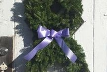 Wreaths For Hope Contest Photos / This year's contest ended today, December 15th. Please, don't let that stop you from posting your photos. Congratulations Kelli Ramsdell!