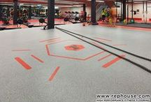 Sports and Fitness Flooring / E-Sports International offers a wide array of flooring solutions for every need. We've partnered with Rephouse, an industry leader to provide the best-quality products for all your track, court, gym, and multipurpose center requirements. Made with sustainable materials and accredited by some of the most respected sports organizations in the world such as FIBA, ITF, FIVB, and BWF, our installations guarantee safe, low-maintenance, and durable surfaces.