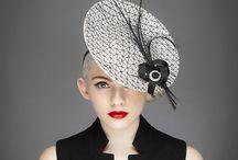 Monochrome Millinery / Timeless elegant interseaonal hats from Sally-Ann Provan Millinery. www.sallyannprovan.co.uk