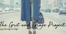 The Grit and Grace Project / TheGritandGraceProject.org || Building an online community of women who believe that life's challenges neither defeat nor define them.  We're looking to encourage, help and connect with women on all areas of life!