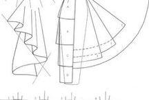 Strihy/ Sewing patterns