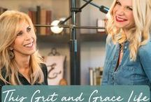 This Grit and Grace Life Podcast / Are you a strong woman or want to be? This Grit and Grace Life hosts, Darlene Brock and Julie Graham cross generational lines and draw from life experience to discuss all things life—from the boardroom to the bedroom, car-lines to college, being single, married or single again. Combining the two traits found in all women, grit and grace, they laugh, share insights and explore the road taken to find strength every day.