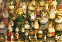 Must Be Santa / My Dad gave me my first Santa, and I have been collecting ever since. Thank you Dad!  / by Barbara Dolan