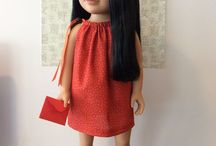 AG Doll Clothes Patterns & Ideas / Patterns for sewing / by Jaci Gasior