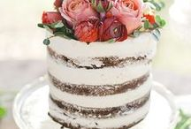 Naked cakes / Completely unadulterated, unspoilt, beautifully dressed naked cakes!
