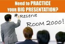 Presentation Practice Makes Perfect! / The answer to all your presentation needs!  Book Room 2000, our new presentation practice room:  http://uoft.me/gersteinroombookings.  Check out our helpful guides on presentation skills too!