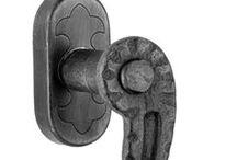 SCHMIEDEEISEN FENSTERGRIFF Wrought Iron Window Handle / Schmiedeeisen fenstergriff mit Dreh - Kipp Mechanismus. Wrought Iron Window Handle with tilt and turn mechanism