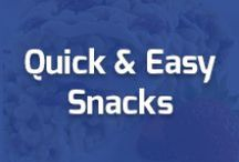 Quick & Easy Snacks! / Medifast MN understands your fast pace lifestyle and we are here to provide the support and food you need while you're on the go!