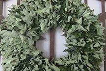 kransen/ wreaths