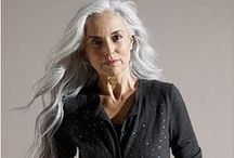 Fifty shades of grey hair / Aging natural is normal.