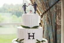 Cake!!! / The cake is the last decor element of your wedding. Will it be round, square or a combination of shapes?  Tall or short?  Fondant or Buttercream or Naked? Simple or Elaborate? Will each tier be a different flavor/filling combo?  Decisions, decisions!