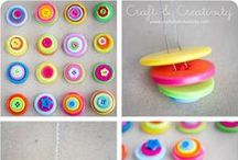 *** DIY - Ideas with Buttons *** / Crafts with Buttons