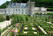 Villandry, France / One of the beautiful places in France... in Villandry, you can visit some magical chateau, enjoy the pure nature, a clean and blue sky. Just what you need to start your holiday.