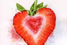 Bodyshape heart/strawberry