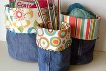maglia, cucito e uncinetto
