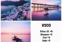 •VSCO's Filter / We love good filter(s)!