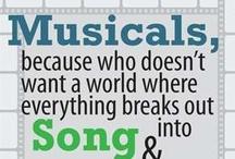Musicals / by Jamie Beilstein