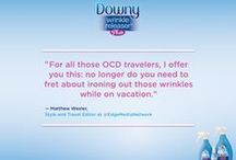In the News / Learn more about Downy Wrinkle Releaser, the #wonderbottle.