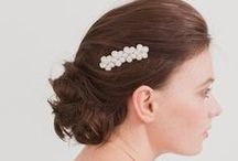 Bridal and wedding hair accessories by Britten / Bridal and wedding hair accessories by Britten