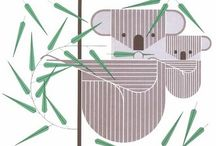 Charley Harper / One of my most favourite illustrators. Charley Harper interpretation of animals is fantastic.