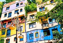 Hundertwasser buildings