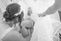 Our Brides- Wedding Garter Co / Our brides wearing their wedding garters