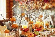 Autumn/Halloween /Jesień / jesienne inspiracje w dekoracji domów