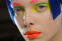 NEON! / Neon makeup inspiration; when your brights mean business.