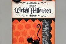 Halloween cards / Halloweenowe karty i zaproszenia /  Halloweenowe karty i zaproszenia