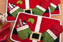 Christmas needlework / bożonarodzeniowe robótki / bożonarodzeniowe robótki