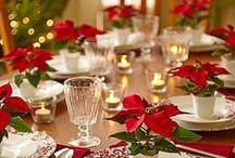 Christmas table / wigilijny stół / pomysły na dekoracje świątecznego stołu