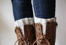 Crochet/Knit boot cuffs