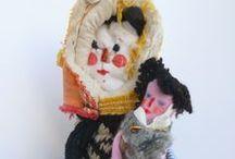 Dandolls / hand made fabric dolls by Daniela Tordi