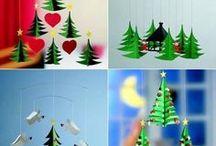 Christmas DIY / pomysły na przygotowanie własnych dekoracji świątecznych