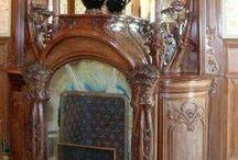 Art Nouveau interiors / styl zachwycający,nawiązujący do natury,niezwykłe bajkowe wnętrza