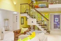 yellow and orange interior / słoneczne wnętrza
