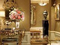 best neo classical & glamour interior design / wnętrza na wysoki połysk,dosłownie i w przenośni,piękne zdobienia,pełen luksus,uwielbiam glamour i neoklasycyzm