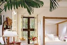 best tropical interior design / tropikalny styl wnętrz,wiele pomysłów na odrobinę wakacji w domu