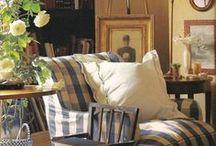 Old Cottage Interiors / wnętrza stylizowane na stare i oryginalne izby w wiekowych wiejskich chatkach