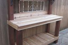 Potting tables / Ideas for potting tables