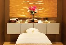 Spa decorating Ideas / As we are a Spa Equipment Supplier We also love to help and offer inspiration , furniture, and equipment to decorate your Spa or Aesthetic Area. Visit us at: https://www.blasononline.com