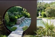 Contemporary garden designs