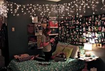 Dream bedroom / by Abby Heinz