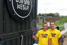 Piknik z Yellow Tenis / Piknik organizowany przez Szkołę Tenisa Yellow Tenis w Warszawie - wrzesień 2015 r  #cudnadwisłą  #tennislifestyle