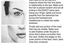 How to draw / Tips that can help you draw (found on Pinterest)